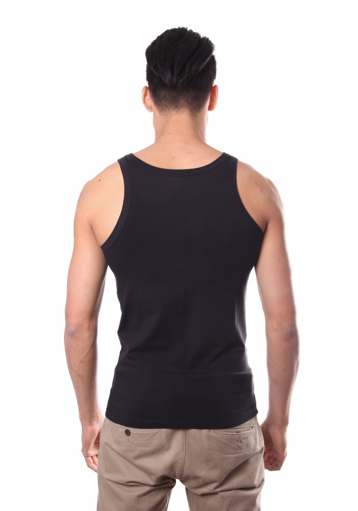 Hom Smart Cotton Tanktop Black