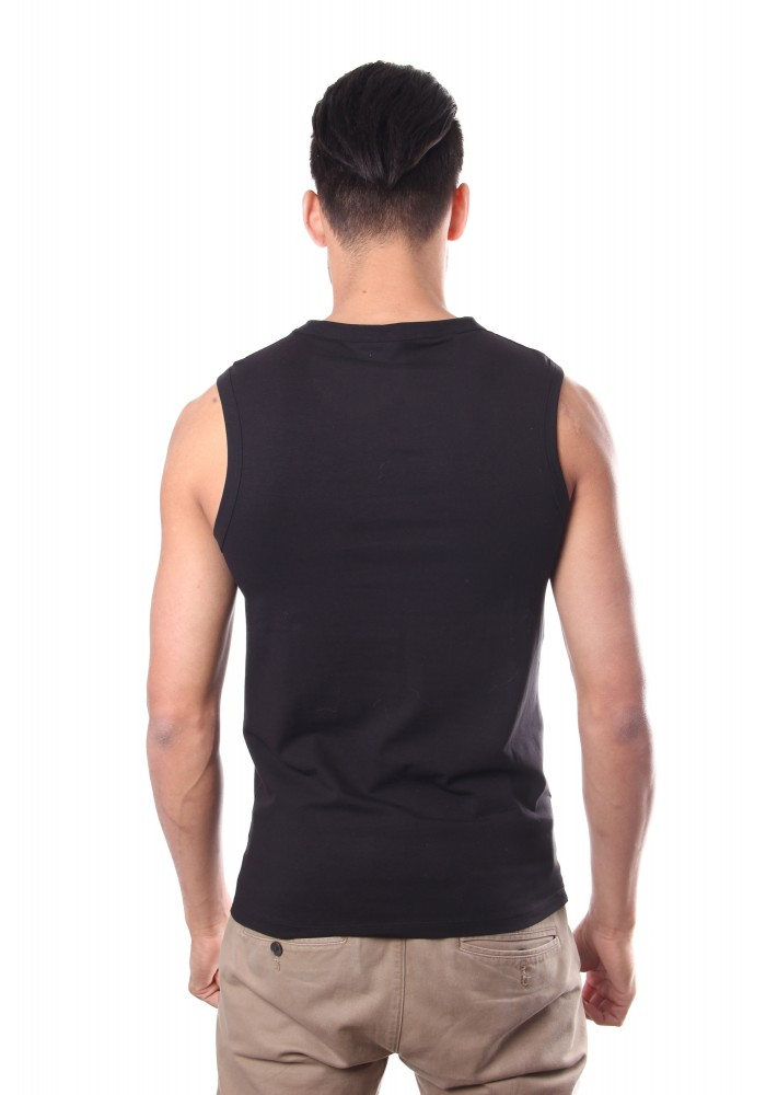 Hom Smart Cotton Sleeveless Black