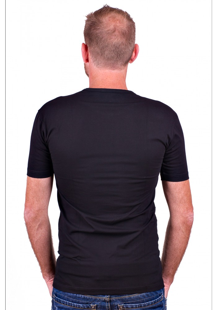 Alan Red T-Shirt Ottawa Black