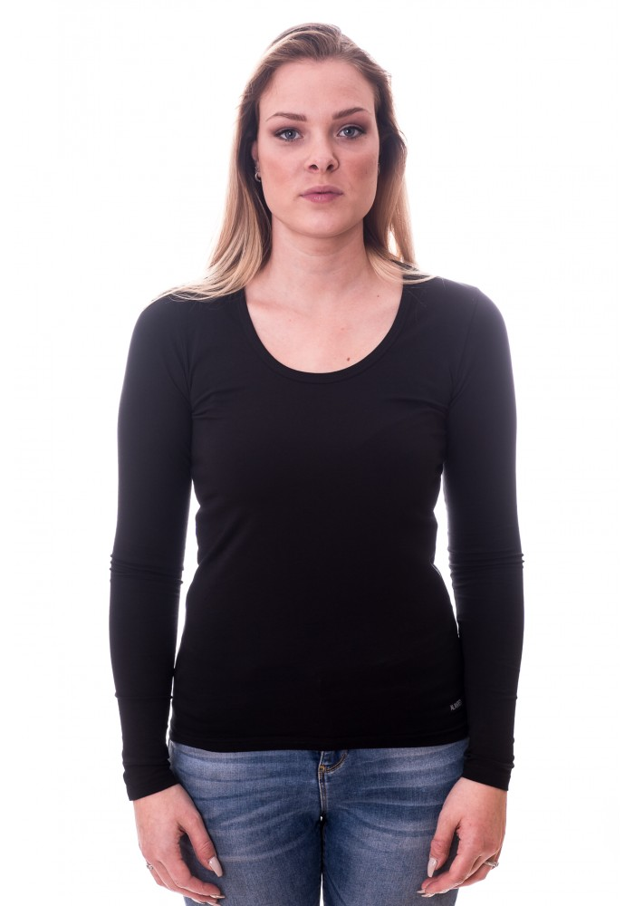Alan Red Women T-shirt Laura Black
