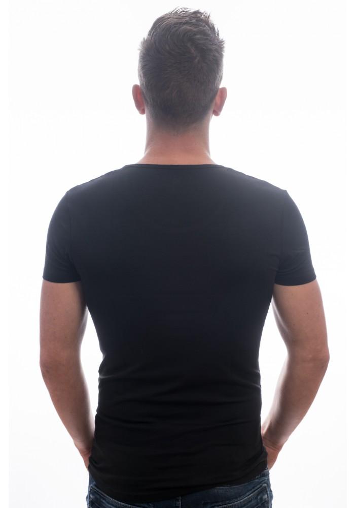 Garage t-shirt deep round neck