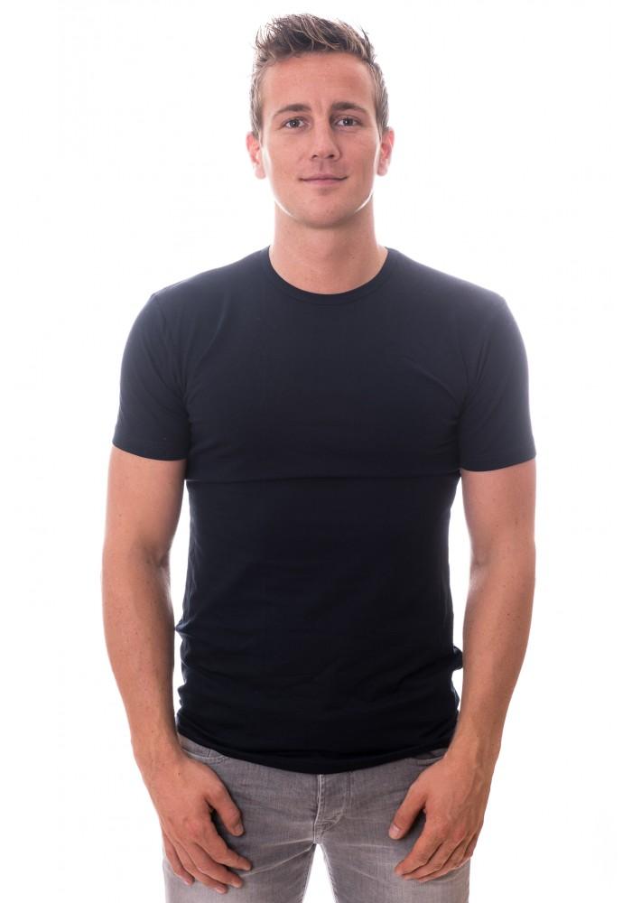 """Claesen""""s Basic Stretch T-Shirt Ronde Hals"""