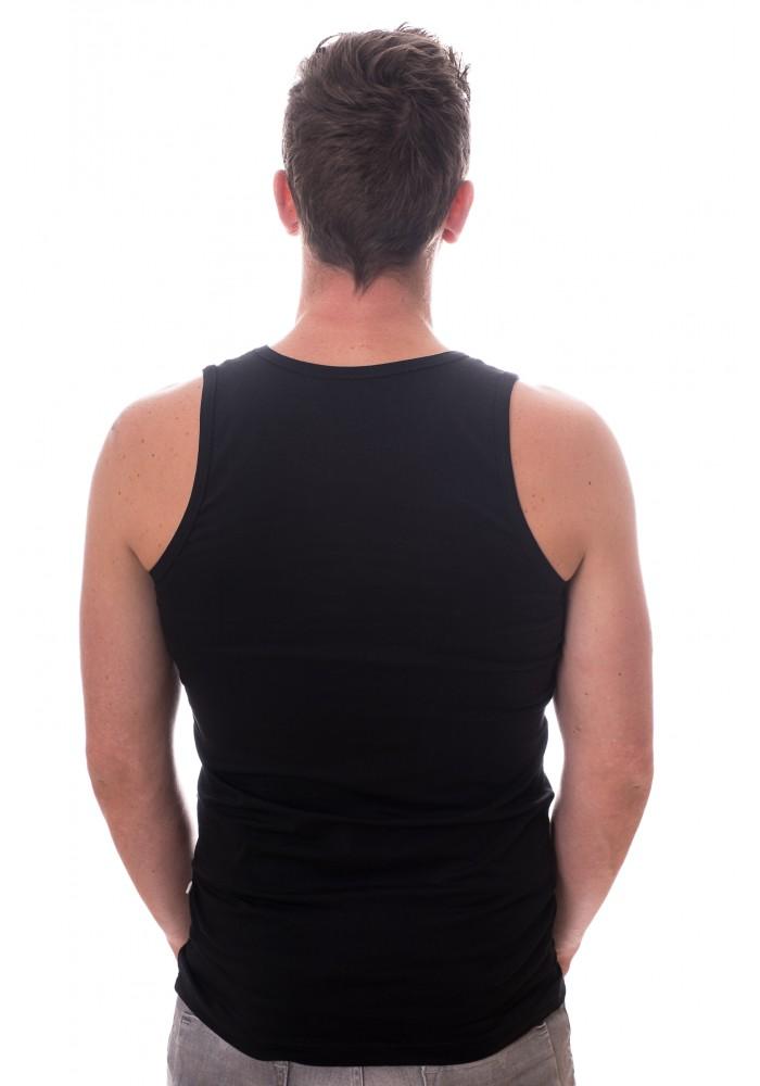 Claesens Singlet stretch black