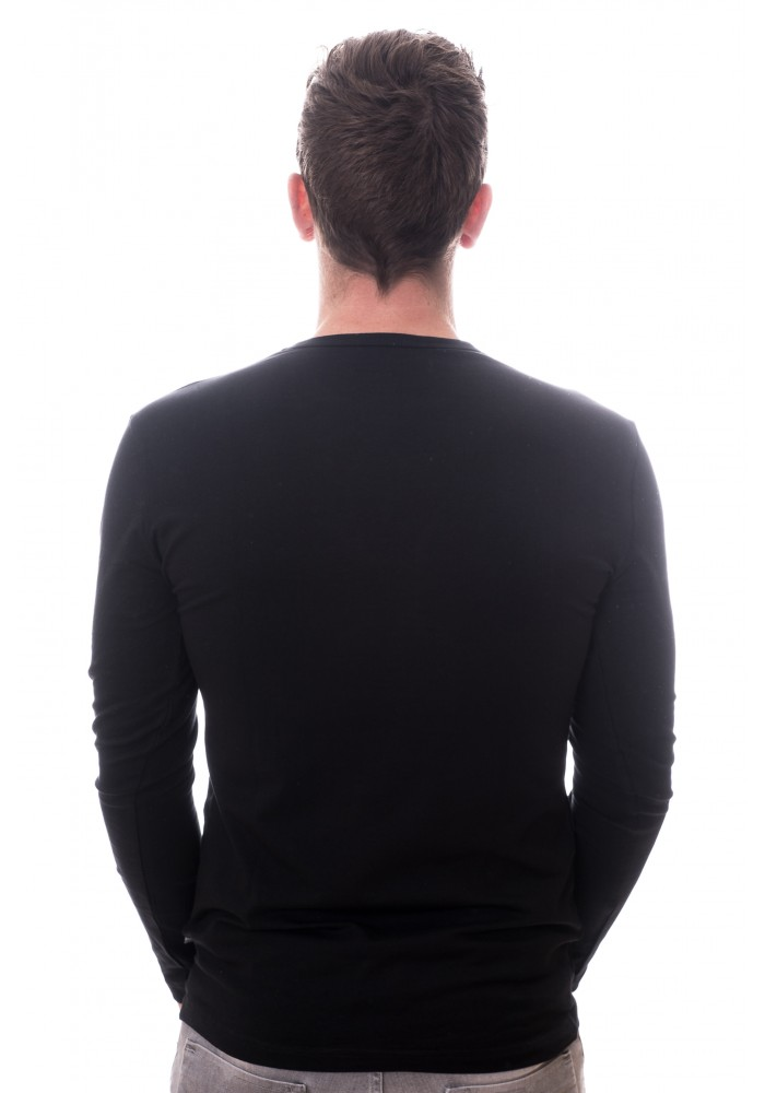 Claesens zwart lange mouw shirt