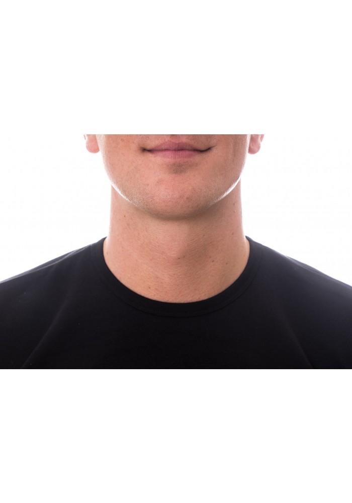 """Claesen""""s Basic Stretch T-Shirt Zwart Ronde Hals"""