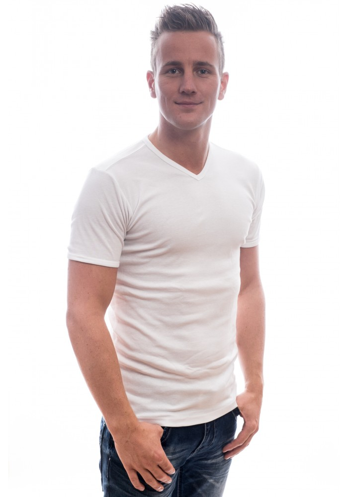 Petrol Basic Shirt v-neck