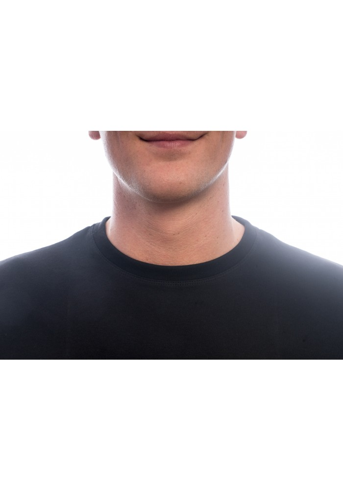 Slater Basic T-Shirt O neck Black