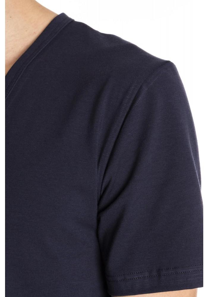 Mey t-shirt v-neck blue