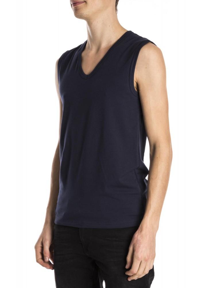 Mey Sleeveless shirt blue