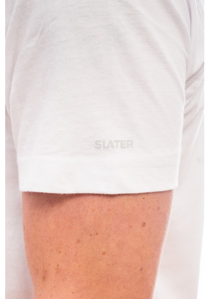 Slater Basic T-Shirt O neck White