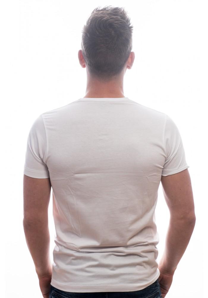 Slater Basic Fit T Shirt V Hals