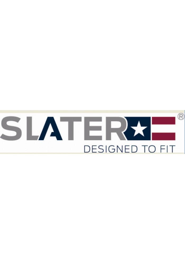 Slater T-Shirt Basic Fit V-neck white EXTRA LONG
