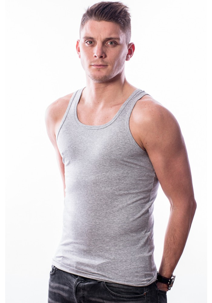 Ten Cate Singlet Grey Melee