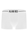 Alan Red Boxer White